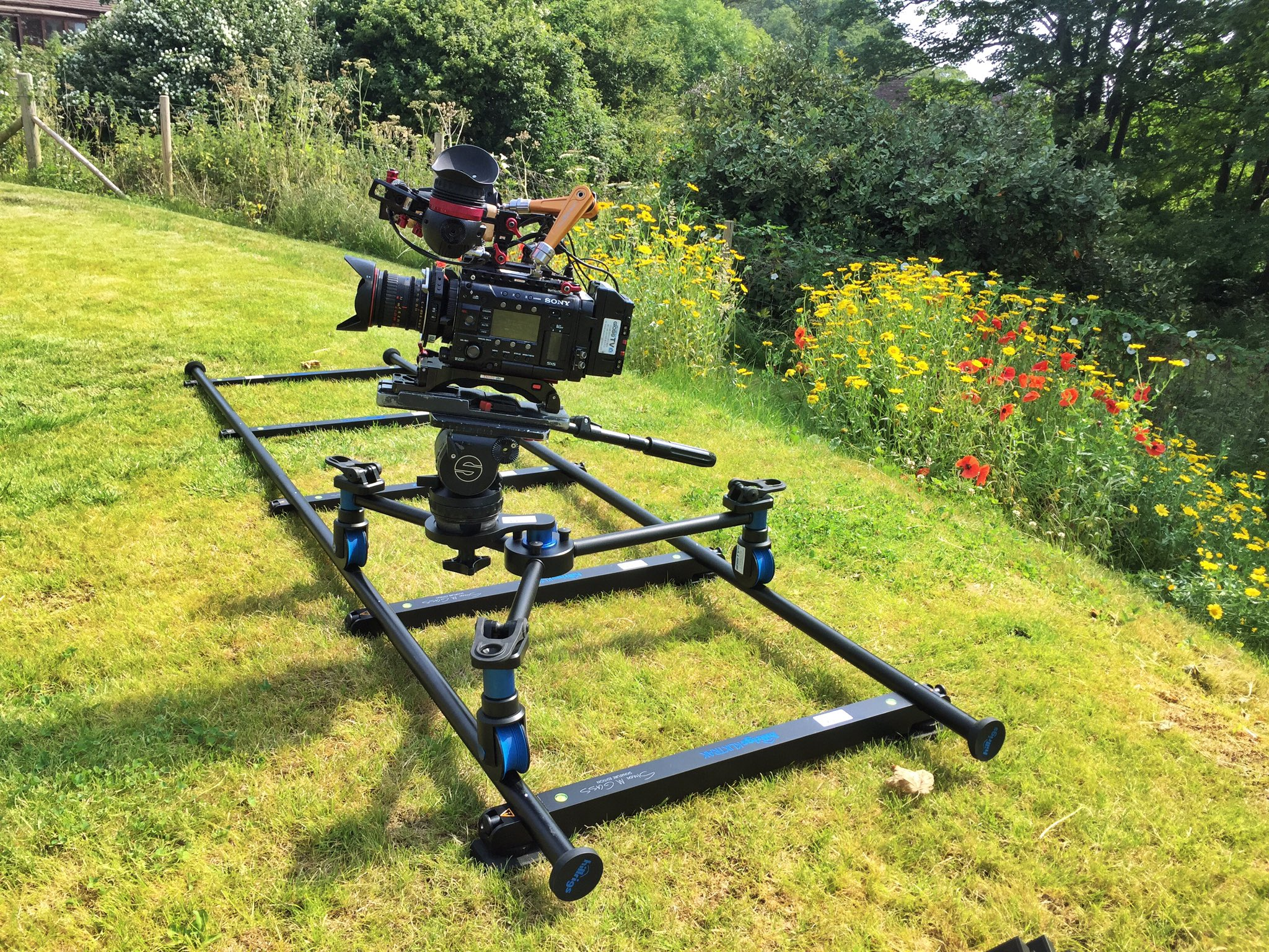 On location with our kit